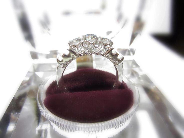 <3LOVE<3 Batman Engagement Ring