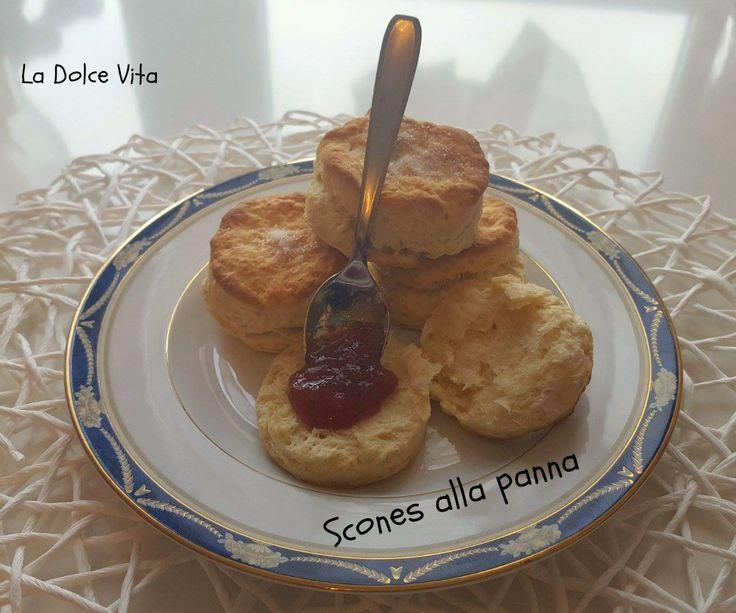 #Scones ricetta veloce con #panna nell'impasto!