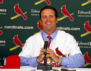 St. Louis Cardinals' manager Mike Matheny