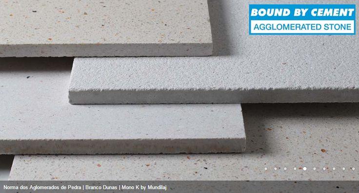 Diferentes texturas de aglomerados de Pedra na cor Branco Dunas Comprar em: www.pimacon.pt | telefone - 252 990 440 | Landim VNF | Portugal