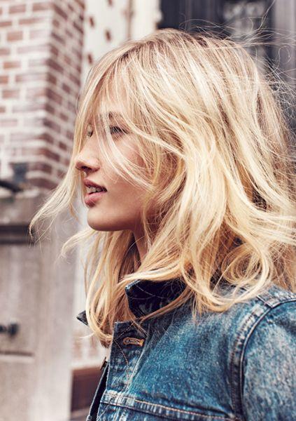 Beautiful blond shade