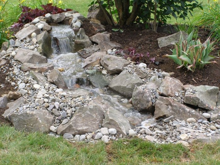 21 Best Images About Rock Water Fall Dry On Pinterest Gardens Backyard Waterfalls And Falling
