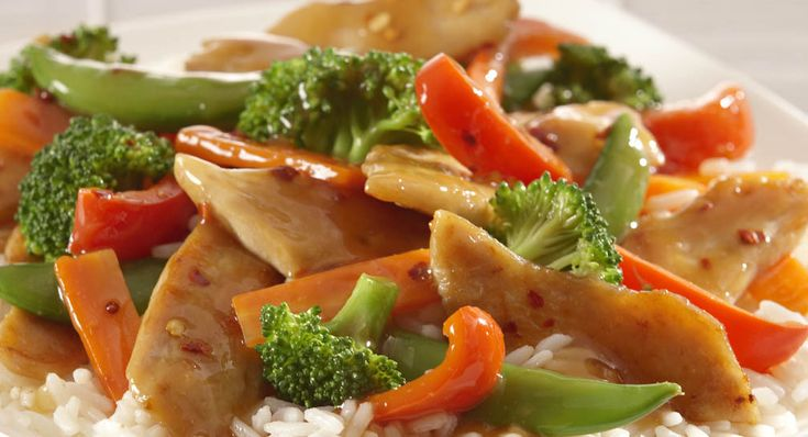 Chicken and Vegetable Stir Fry -Made this last night, (although didn't use McCormick brand, and it turned out yummy!!