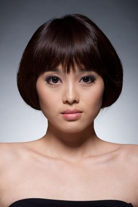 Short Hair - Chic bob with volume