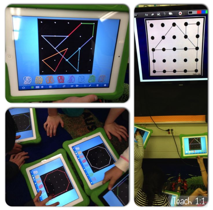 iTeach 1:1: Engaging and hands-on geometry apps
