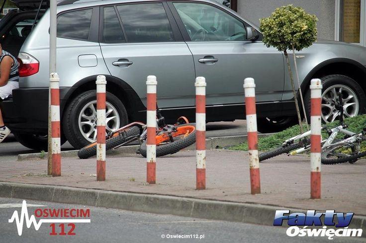 O włos od tragedii – FOTO #PolankaWielka #zderzenie #kolizja #dziecko #rower #chłopiec #policja