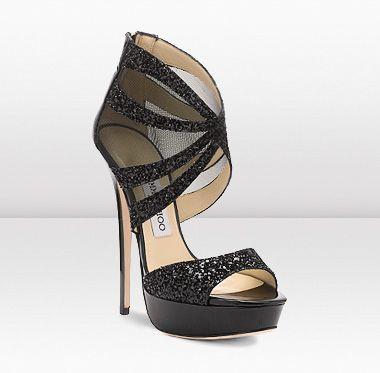 Liv  These sexy yet elegant towering 145mm platform sandals in sheer mesh and glitter fabric are not to be missed.: Liv 145Mm, Fashion Shoes, Choo Shoes, Black Coar, Jimmy Choo, Jimmychoo, Choo Liv, Choo Choo, Platform Sandals