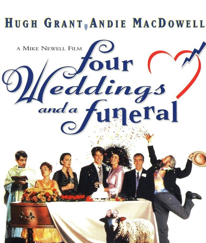 Four Weddings And A Funeral Wedding