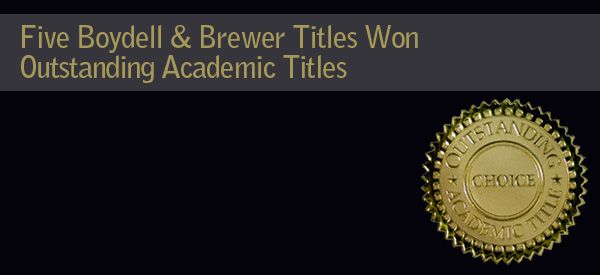 Five Boydell & Brewer, Inc. titles have been selected to be included in Choice magazine's annual Outstanding Academic Titles list, 2014.  Abandoning America - http://boybrew.co/LRJhLT Sir Thomas Malory: Le Morte Darthur [2 volume set] - http://boybrew.co/1akGbHG The Musical Novel - http://boybrew.co/1BqJkCF Last Features - http://boybrew.co/9781571135551 The French Symphony at the Fin de Siècle - http://boybrew.co/13MG9Ko