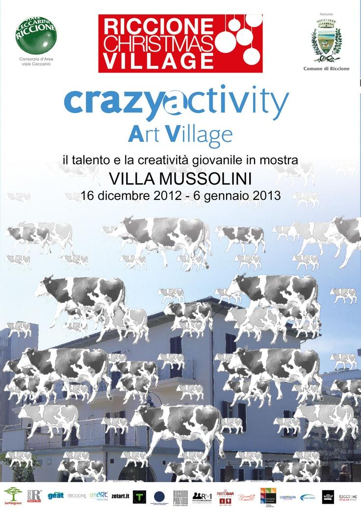 Crazyactivity ArtVillage mostra di creatività a Riccione per Capodanno