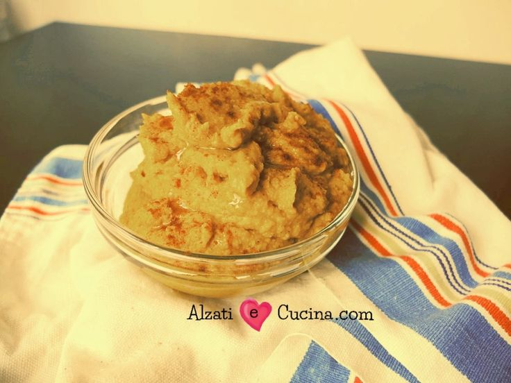 Hummus di zucca e ceci