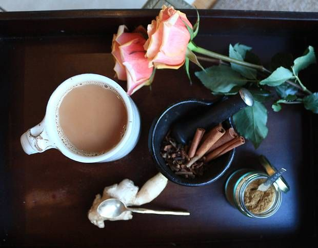 Forget the calorie-laden cafe versions, here's a homemade Chai Tea Latte recipe - Recipes - Food and Drink - The Independent