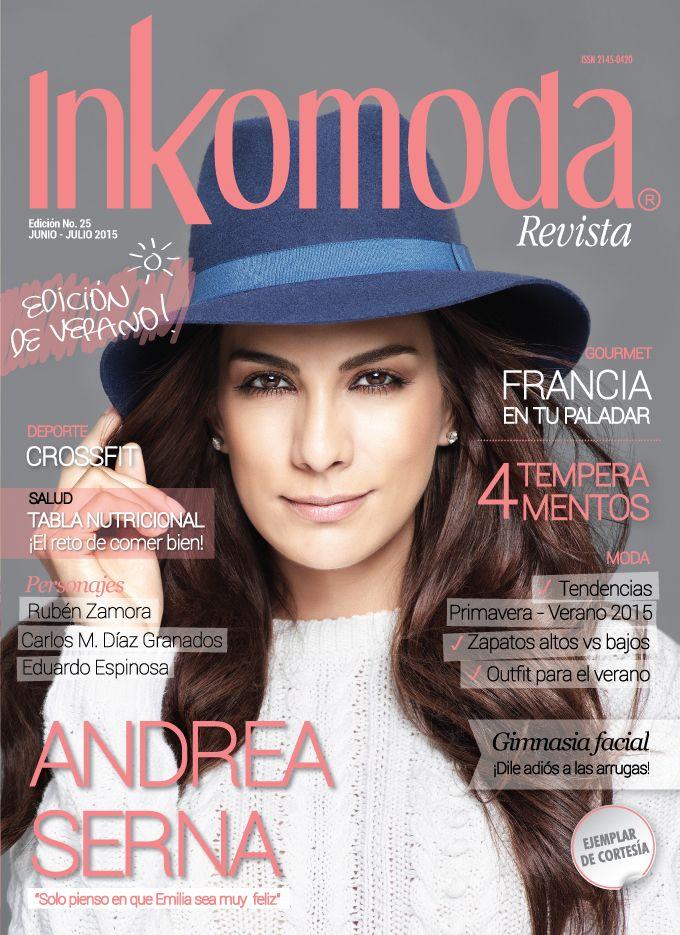 La televisión nos acompaña gran parte de nuestro tiempo, por lo que es normal que encontremos algunas afinidades con aquellos que aparecen en la pantalla, precisamente Andrea Serna es una de esas personas con la que muchos se identifican, porque desde sus inicios esta mujer ha proyectado calidez y gracia, características con las que conquistó los corazones de miles de colombianos. http://www.inkomoda.com/andrea-serna-solo-pienso-en-que-emilia-sea-muy-feliz/