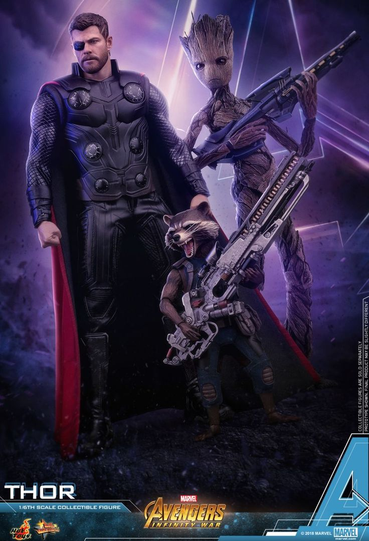 Hot Toys : Avengers: Infinity War - Thor 1/6th scale Collectible Figure