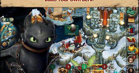 تحميل لعبة dragon rise of berk