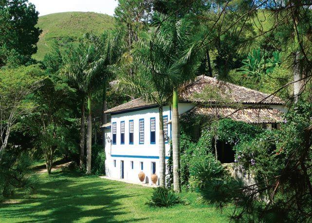 A casa colonial do hotel fazenda - Foto: Reprodução/Harper's Bazaar
