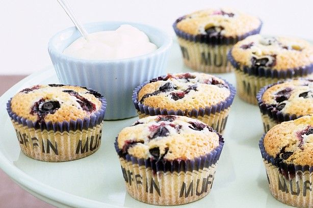 These tasty friands are a delicious breakfast or morning tea idea.