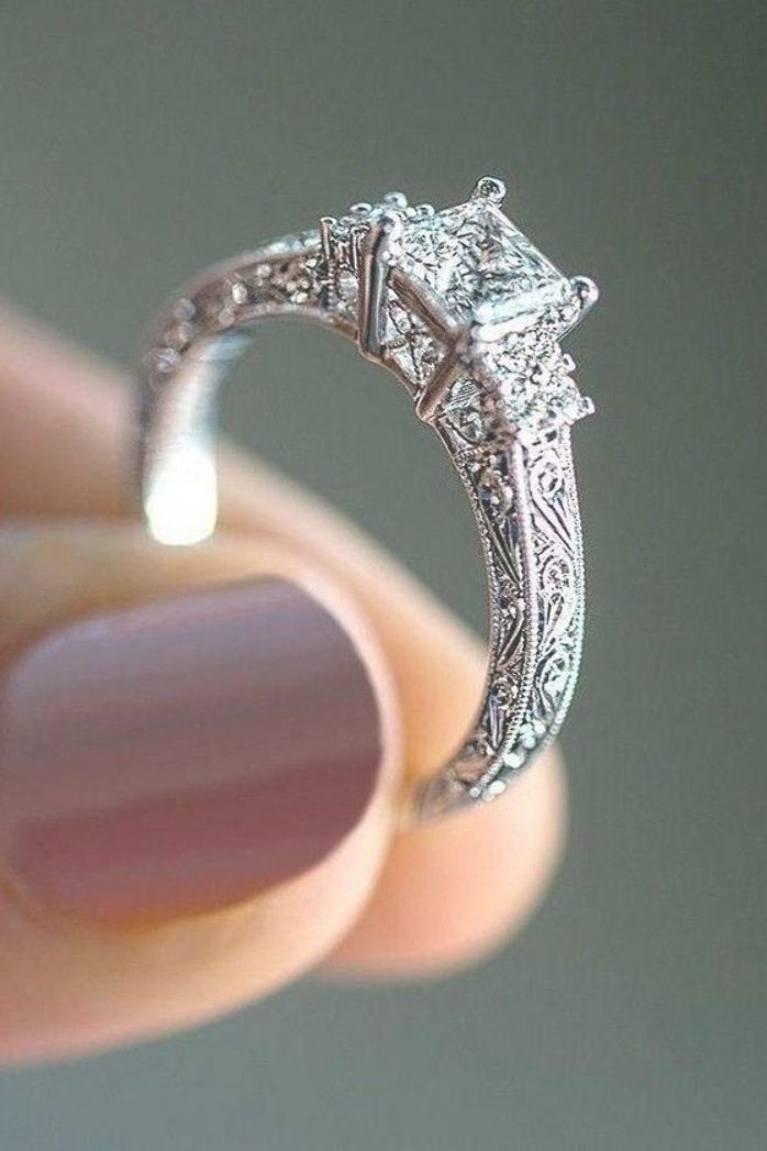 Pin On Wedding Rings For Bride
