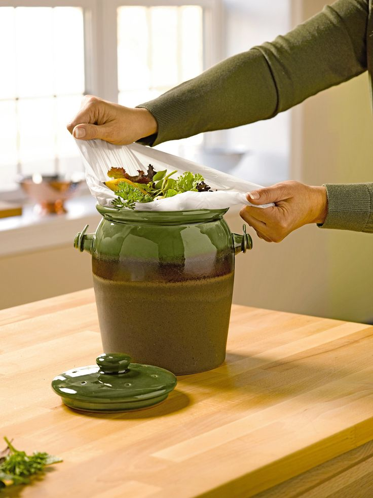 Compostable Bags: Kitchen Compost Bags   Gardeners.com
