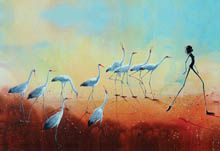 Post Cards Gallery of The Australian Outback Artist Judy Prosser