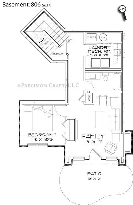 8 best cabin floor plans images on pinterest log cabin for Log homes with basement floor plans
