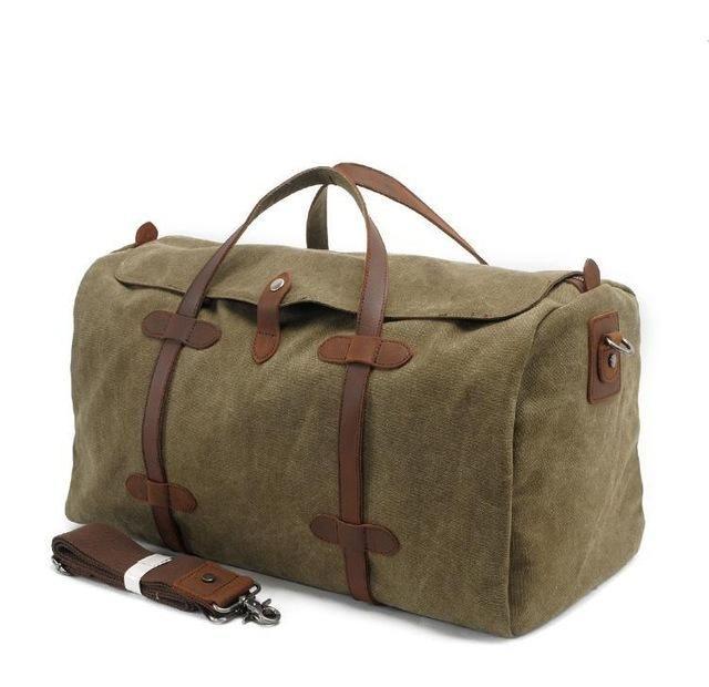 Unisex Portable Waterproof Weekend Overnight Travel Bag Sports Duffel Tote Luggage Holdall Flight Carry-on Bag Handbag Shoulder Bags for Men and Women Travel Tote Luggage Bag Color : Black