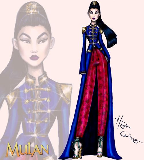 #DisneyDiva 'Fashionistas' by Hayden Williams: #Mulan