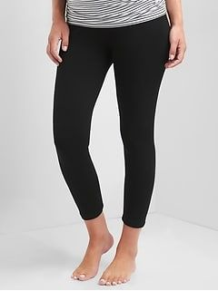 bdb42e83bd6598 Maternity Pure Body Low Rise Capri Leggings | JLaw Baby J | Capri leggings, Black  leggings, Best maternity leggings