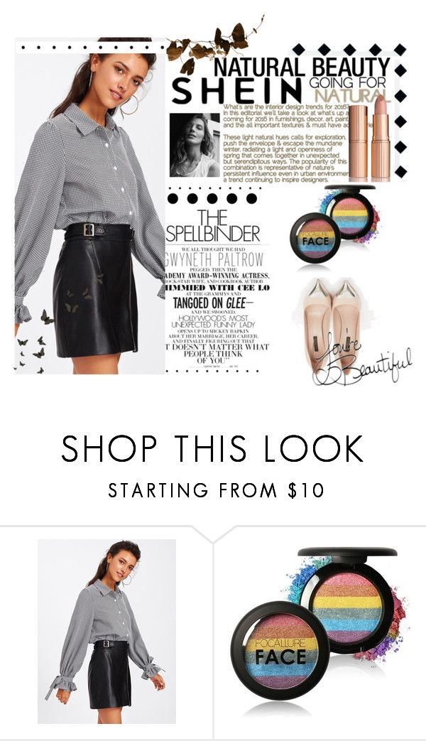 """""""Shein"""" by senija98 ❤ liked on Polyvore featuring Louis Vuitton, Gwyneth Shoes and Disney"""