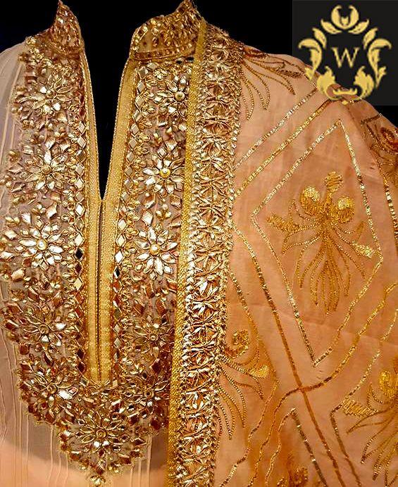 GotaPatti #ideal# festive #season # latest #designer# beautiful #Georgette #karachi #work #suit. #mirror #gotta #Luckhnow# Georgette #cloth #dupatta #indian #suit #designer #suit #indiansuits #wedding season #white #golden #gold #golds #orange