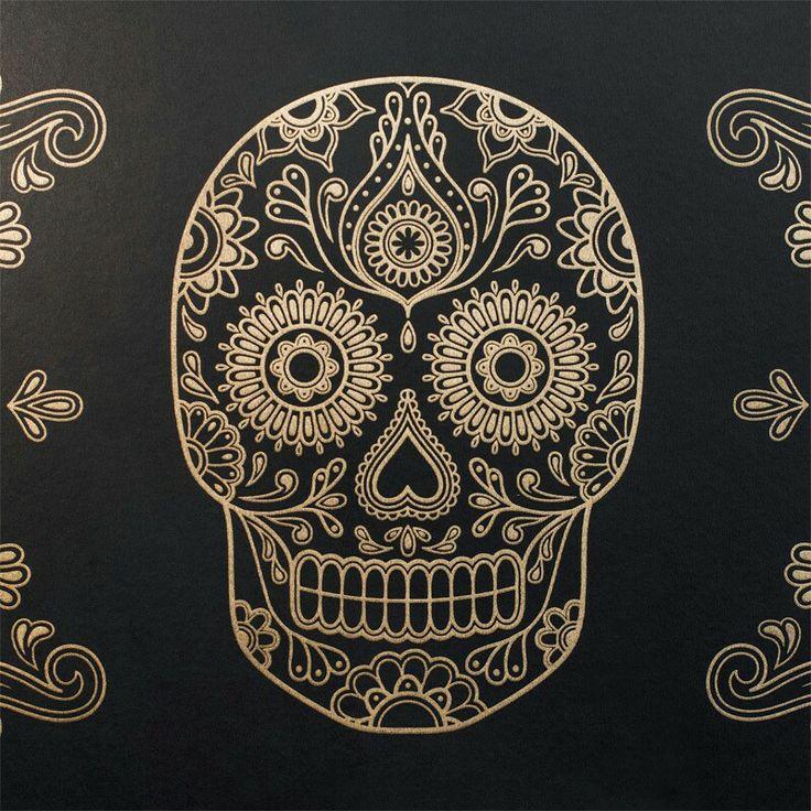 wallpaper additionally sugar skull - photo #12