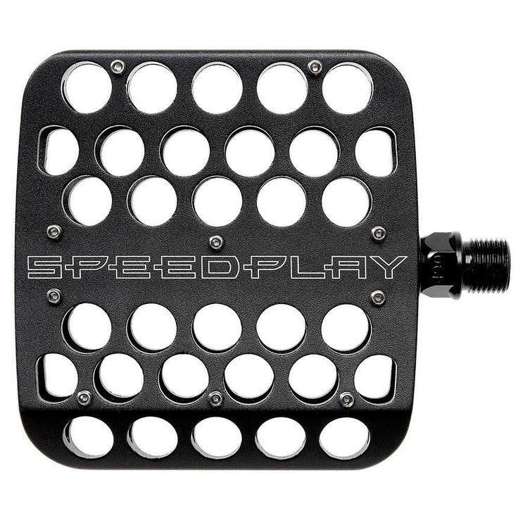 Speedplay 12500 Drillium Platform Pedals - Black - AdertoCycles.ie