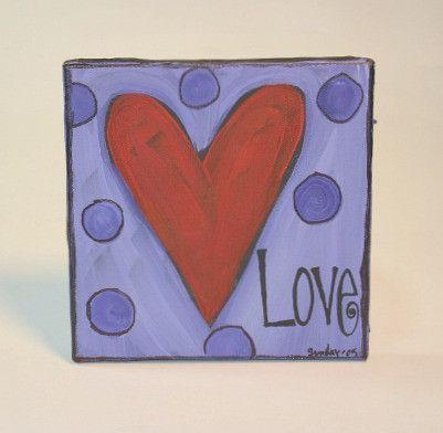 Mini Heart Canvas