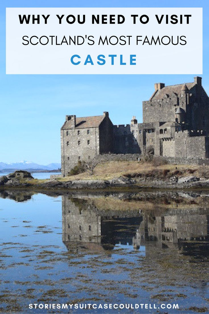 In the Scottish Highlands you'll find hundreds of castles - but Eilean Donan Castle might be the most famous of them all. Click through to find out why, or pin for travel planning later!