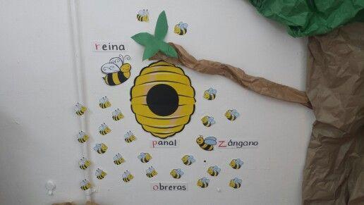 Lugar dónde viven y trabajan las abejas.