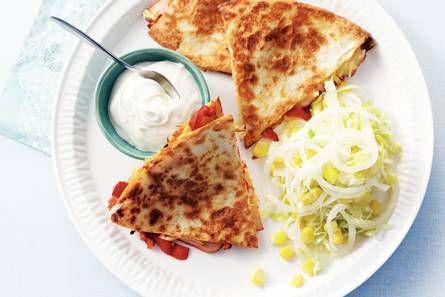 Quesadilla's met kip - Recept - Allerhande