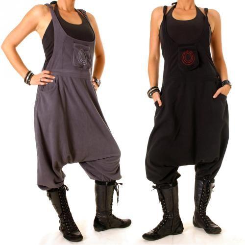 vishes Fleece Hose Latzhose Haremshose Sarouelhose warme Hose Nepal Goa Ethno | eBay