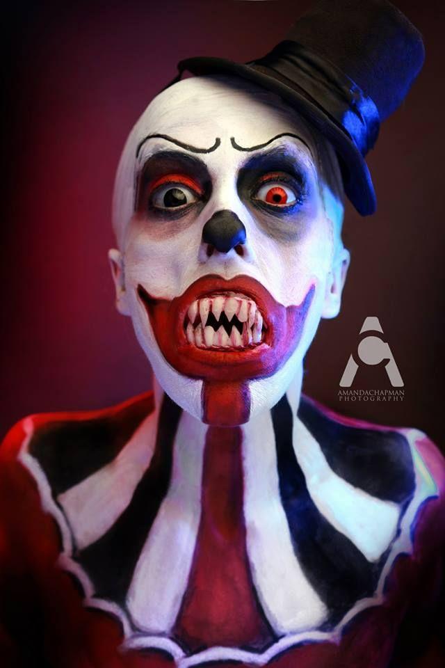 LunarTix The Clown By: Amanda Chapman Photography #ArtisticMakeup