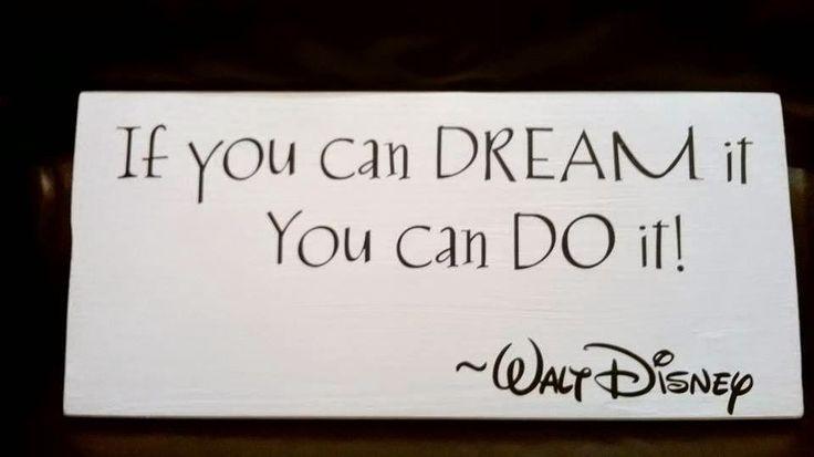 BolleBoll Design: If you can dream it, you can do it! - Walt Disney  www.bollebolldesign.blogspot.no