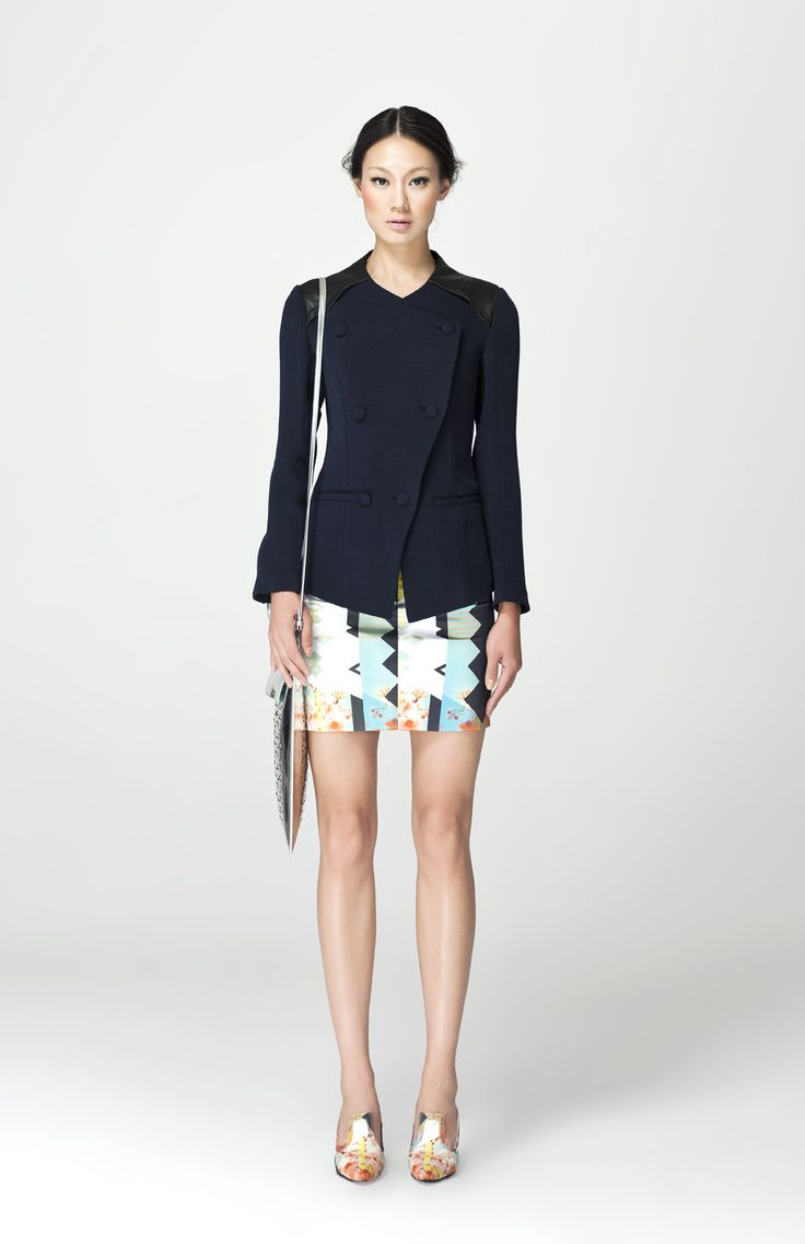 Spring-Summer 2013 women ready-to-wear collection by HELEN LEE