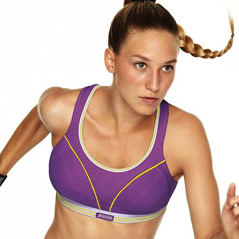 Shock Absorber Purple 'Run' extreme support running bra- at Debenhams Mobile