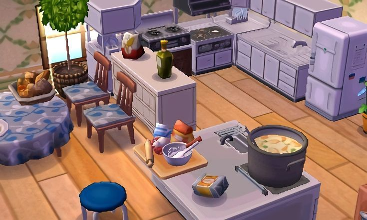 Acnl Kitchen Farmhouse Diy