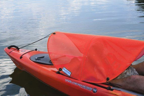 Dog Paddling Sun Shade For Kayaks Canoes And Sups Red In 2020 Kayak Accessories Kayaking With Dogs Canoe