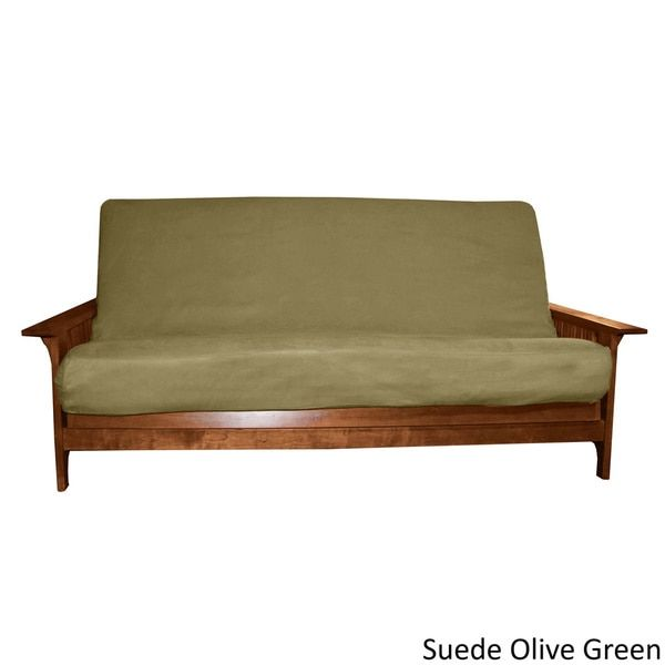 $67.00 Ultima Better Fit Full-size Microfiber Soft Suede or Twill Cotton/ Poly Futon Cover | Overstock.com Shopping - The Best Deals on Futon Covers