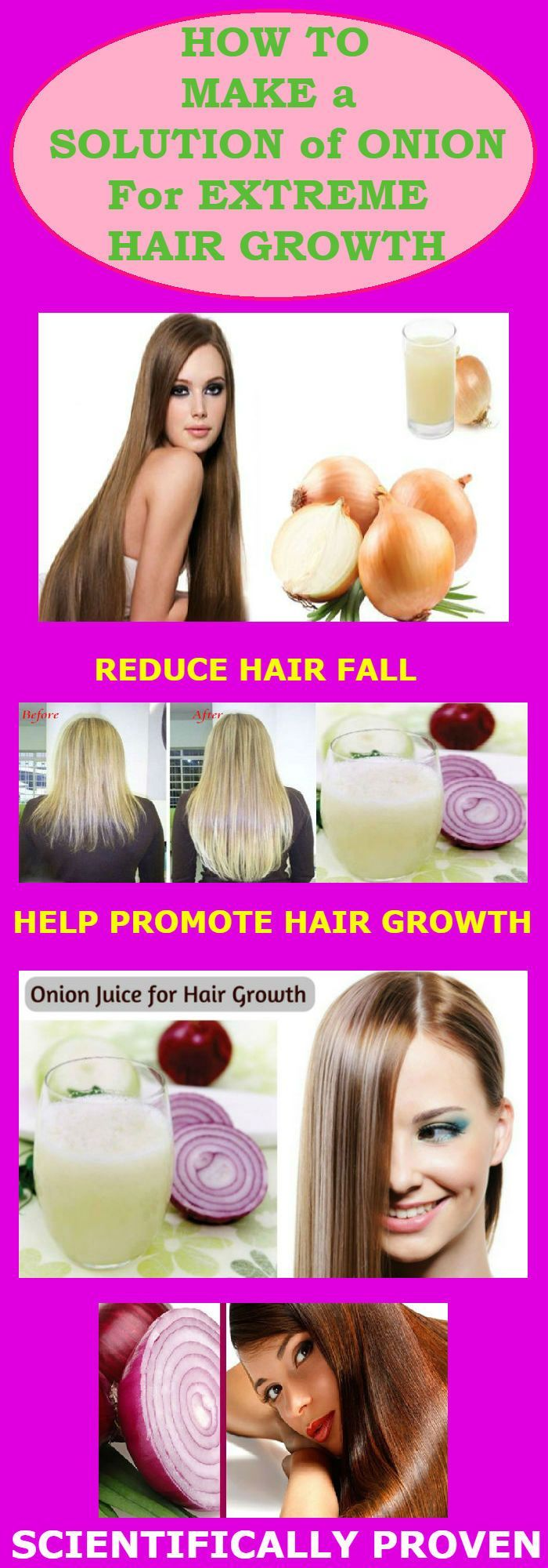 How To Make a Solution of Onion For Extreme Hair Growth!?