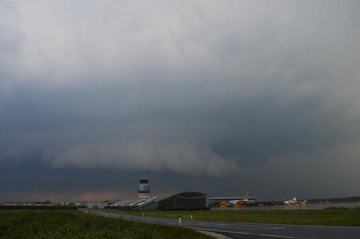 26.07.2014 - Gewitter @ Graz Flughafen (STMK)