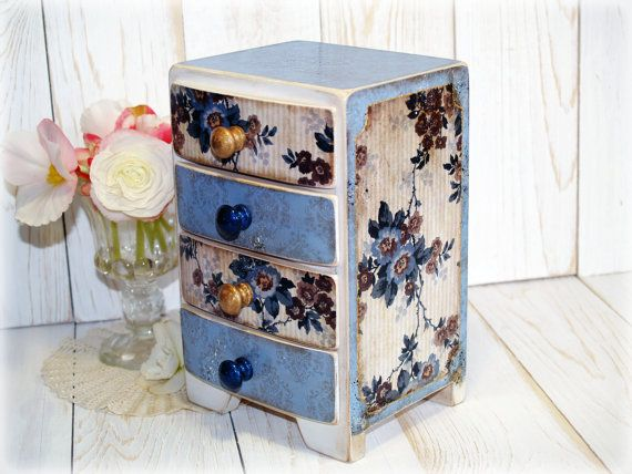 Jewelry Box Four Drawer Box for от HandmadeDecoupage на Etsy, €46.31 https://www.etsy.com/ru/listing/160983151/jewelry-box-four-drawer-box-for?ref=shop_home_active