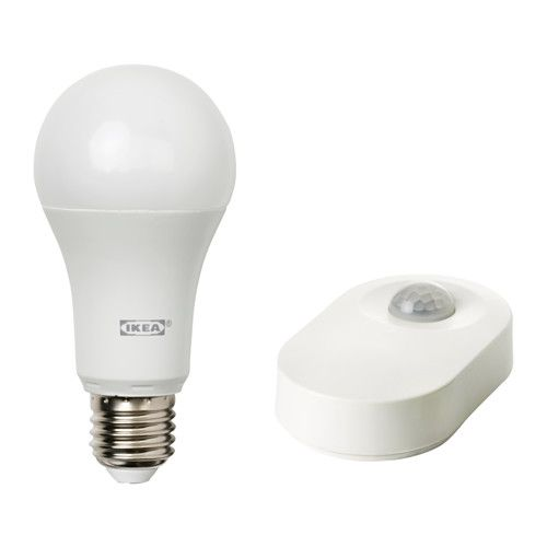 Elegant IKEA TR DFRI Motion sensor kit White Easy to get started with a ready to