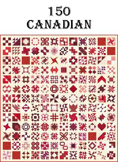 150 Canadian quilt program {I wish I had known about this project sooner. I would have loved to participate in this one}