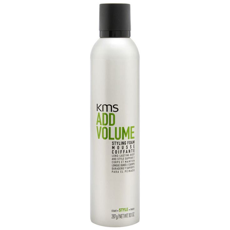 KMS Add Volume Styling Foam Mousse Hair Body & Style Support 10.1 oz